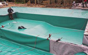 NORDFOL PGR Schwimmteichabdichtung
