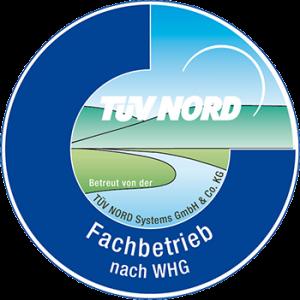 TÜV Nord geprüfter Fachbetrieb nach WHG